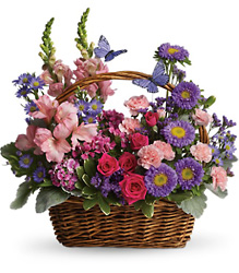 Country Basket Blooms from Carl Johnsen Florist in Beaumont, TX